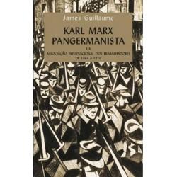 Karl Marx pangermanista e a associaçao internacional dos trabalhadores de 1864 a 1870